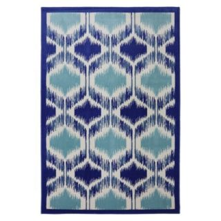 Mohawk Home Shades Woven Area Rug   Blue/Cream (8x10)