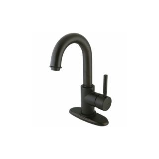 Elements of Design ES8435DL NuVo Centerset or Single Hole Lavatory Faucet