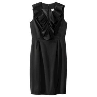 Merona Petites Sleeveless Sheath Dress   Black 18P