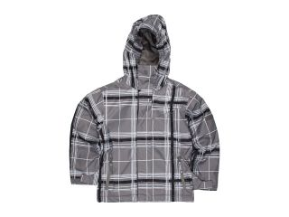 Quiksilver Kids Grid Jacket Boys Coat (Gray)