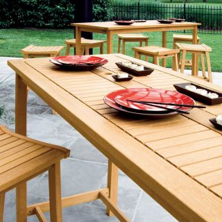 Oxford Garden Dartmoor Long Bar Table   DM79TAU
