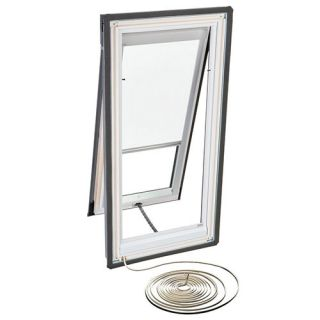 Velux RMH S06 1028 Skylight Blind, Electric Powered Light Filtering for Velux VSE S06 Models White