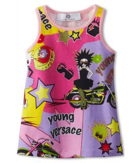 Versace Kids Baby Girls Beachwear Tank Dress Summer Party Print Girls Dress (Multi)