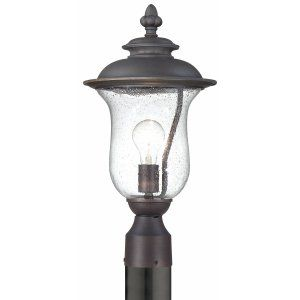 Thomas Lighting THO 190088763 Carlisle Lantern post Painted Bronze 1x
