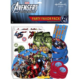 Avenger Assemble Party Favor Value Pack
