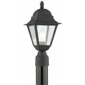 Thomas Lighting THO SL7387 Windbrook Lantern post Black 1x100W 120