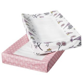 Room 365 Birds & Flowers Changing Pad Cover  2 pack
