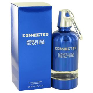 Kenneth Cole Reaction Connected for Men by Kenneth Cole EDT Spray 4.2 oz