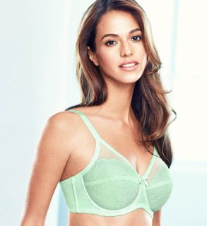 Wacoal 855186 Retro Chic 2 Section Cup Bra in Chantilly Lace