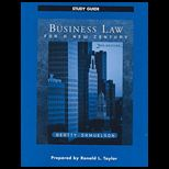 Business Law for New Century   Study Guide