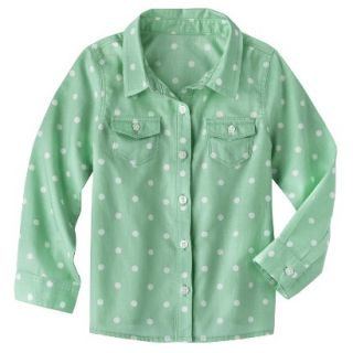 Genuine Kids from OshKosh Infant Toddler Girls Long sleeve Button Down
