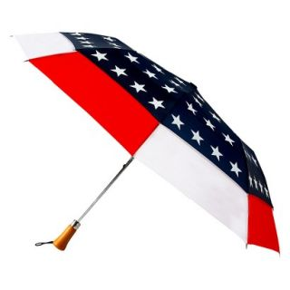 Futai American Flag Design Travel Windefyer Auto Open Canopy Star Umbrella