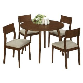 Dining Table Monarch Specialties Modern Dining Table   Medium Brown (Oak)