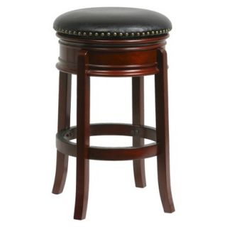 Counter Stool Boraam Industries Counter Stool   Red Brown (Cherry)