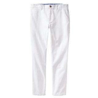 Mossimo Supply Co. Mens Vintage Slim Chino Pants   Fresh White 34X30