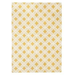 Threshold Indoor/Outdoor Area Rug   Yellow (4x6)