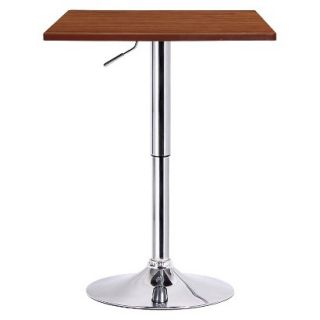 Dining Table Boraam Industries Luta Adjustable Pub Table   Brown (Walnut)