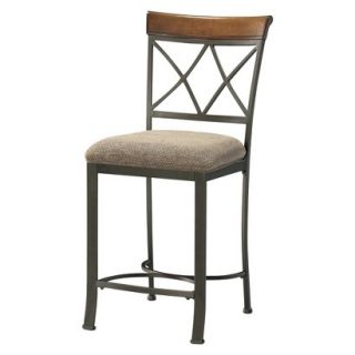Counter Stool Powell Hamilton Dining Counter Stool   Brown
