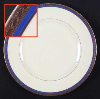 Syracuse Wayne Blue (Fine China) Dinner Plate, Fine China Dinnerware   Old Ivory