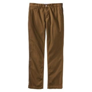 Mossimo Supply Co. Mens Slim Fit Chino Pants   Gilded Brown 32x32