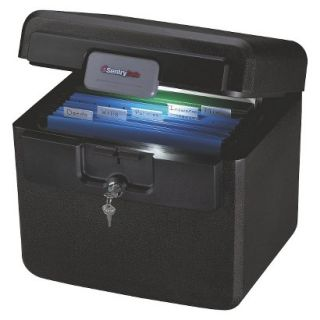 SentrySafe Fireproof Safe Securities Safe Sentry Safe Black Fire Safe File   .