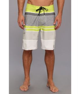 Rip Curl Livin Stripe Boardshort Mens Swimwear (Green)