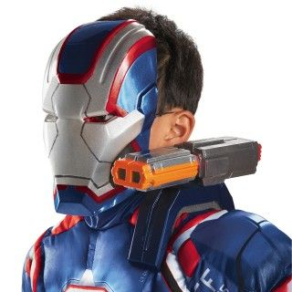 Iron Man 3 Iron Patriot Shoulder Chain Gun