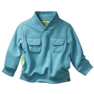 Genuine Kids from OshKosh Infant Toddler Boys Sweatshirt   Teal 4T