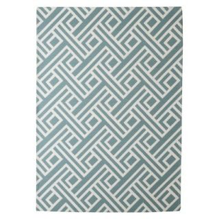 Threshold Indoor/Outdoor Area Rug   Blue (5x7)