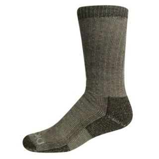 Dickies Mens 1pk Merino Wool Socks   Brown