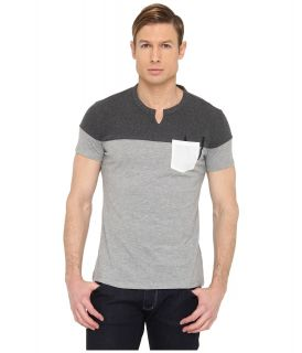 Armani Jeans Slim Poly Jersey Tee Mens T Shirt (Gray)