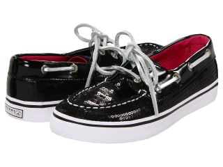 Sperry Top Sider Kids Bahama Sequins Girls Shoes (Black)