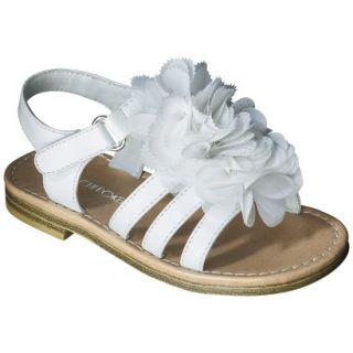 Toddler Girls Cherokee Joslyn Sandal   White 9