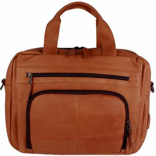 Latico Heritage Top zip Leather Laptop Brief