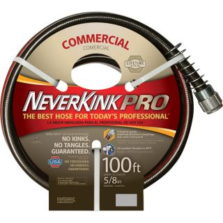 Apex Neverkink Commercial Duty Garden Hose   5/8 Inch x 50ft., Model 8844 100