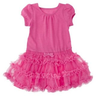Cherokee Infant Toddler Girls Tutu Dress   Pink 12 M