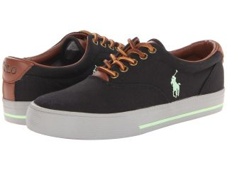 Polo Ralph Lauren Vaughn Mens Lace up casual Shoes (Black)
