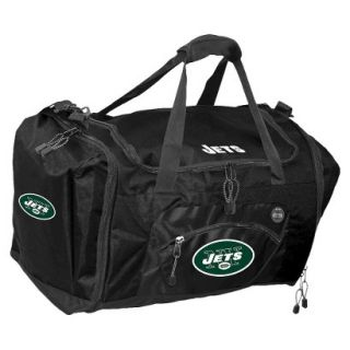 Concept One New York Jets Roadblock Duffel   Black