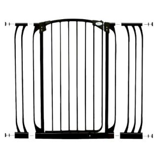 Dreambaby Chelsea Xtra Tall Auto Close Security Gate with Extensions   Black