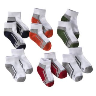 Boys Cherokee Multicolor 6 pair Ankle Socks 3 10