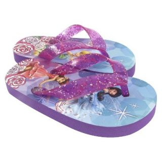 Toddler Girls Tinkerbell Flip Flop Sandals   Multicolor 10