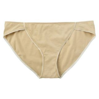 JKY By Jockey Womens Cotton Stretch Bikini   Toasted Beige 7