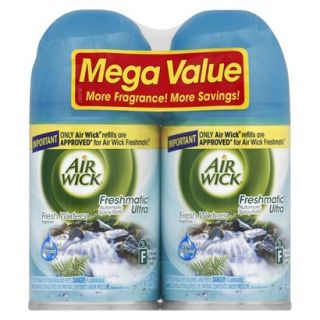 Air Wick Freshmatic Ultra Automatic Spray, Refill  FRESH WATERS, 6.17 Ounces, 2