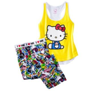 Hello Kitty Juniors PJ Set   Yellow S(3 5)