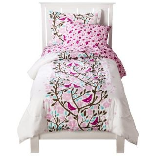 Room 365 Birds in Trees Comforter Set   Twin