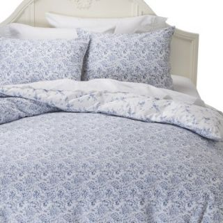 Simply Shabby Chic Batik Duvet Cover Cover Set   Indigo (Twin)