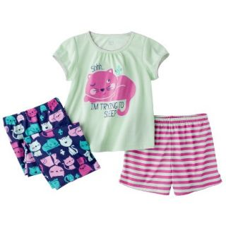Just One You made by Carters Infant Toddler Girls 3 Piece Short Sleeve Pajama