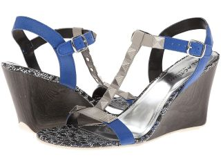Kenneth Cole Reaction Ava Flava Womens Wedge Shoes (Blue)