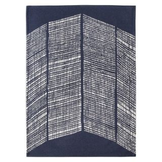 Nate Berkus Area Rug   Blue/Shell (5x7)