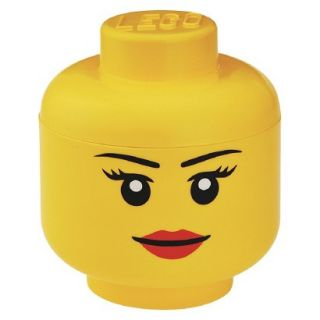 LEGO Large Storage Girl Head